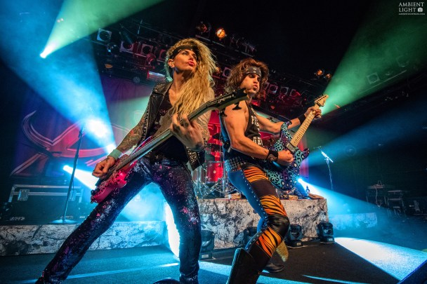 Steel Panther perform live at The Powerstation, Auckland 2016. Image by Doug Peters.