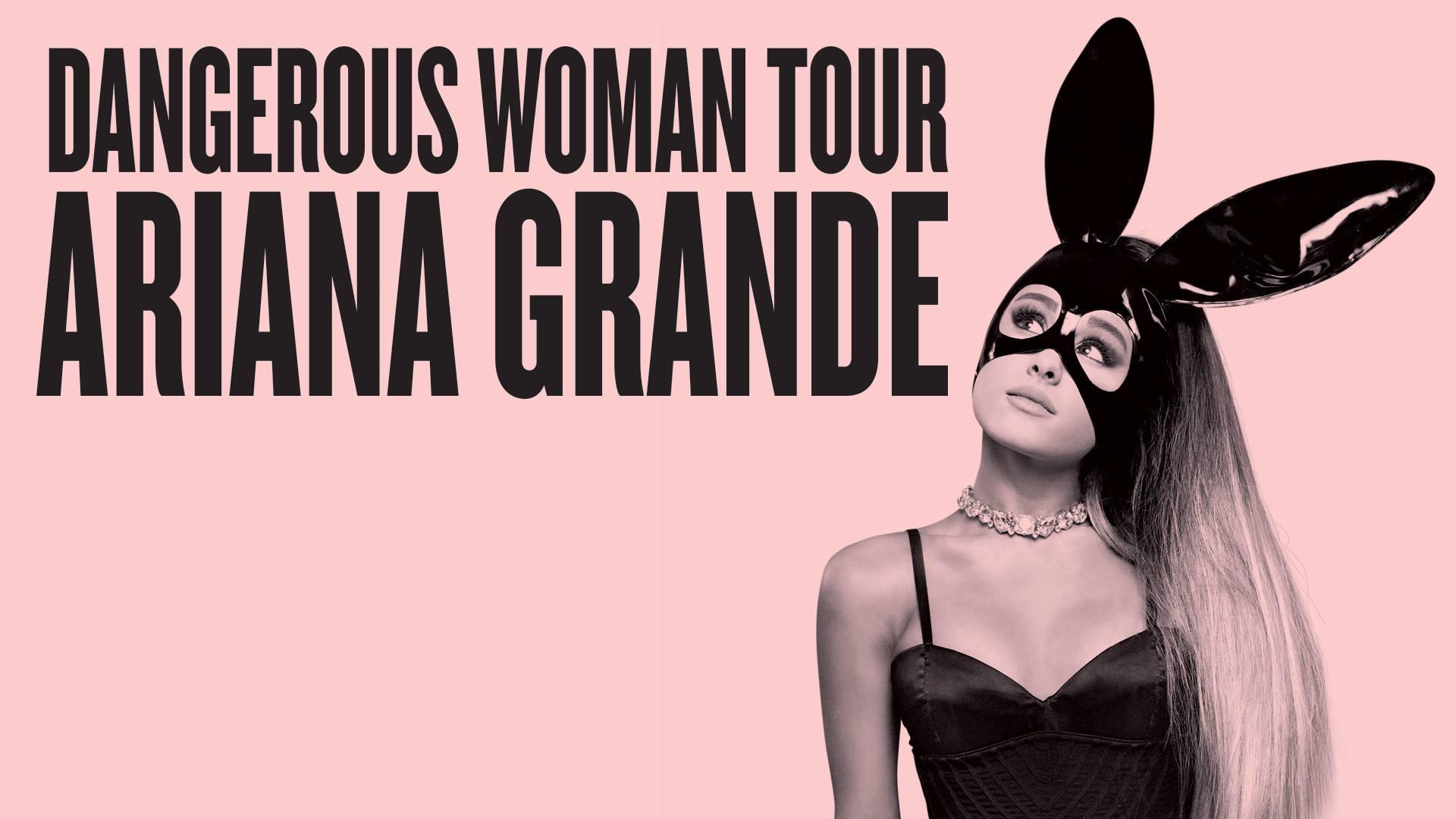 Ariana Grande Tour Banner