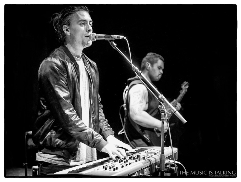 Nation performing live in Wellington 2017. Image by Alexander Hallag.