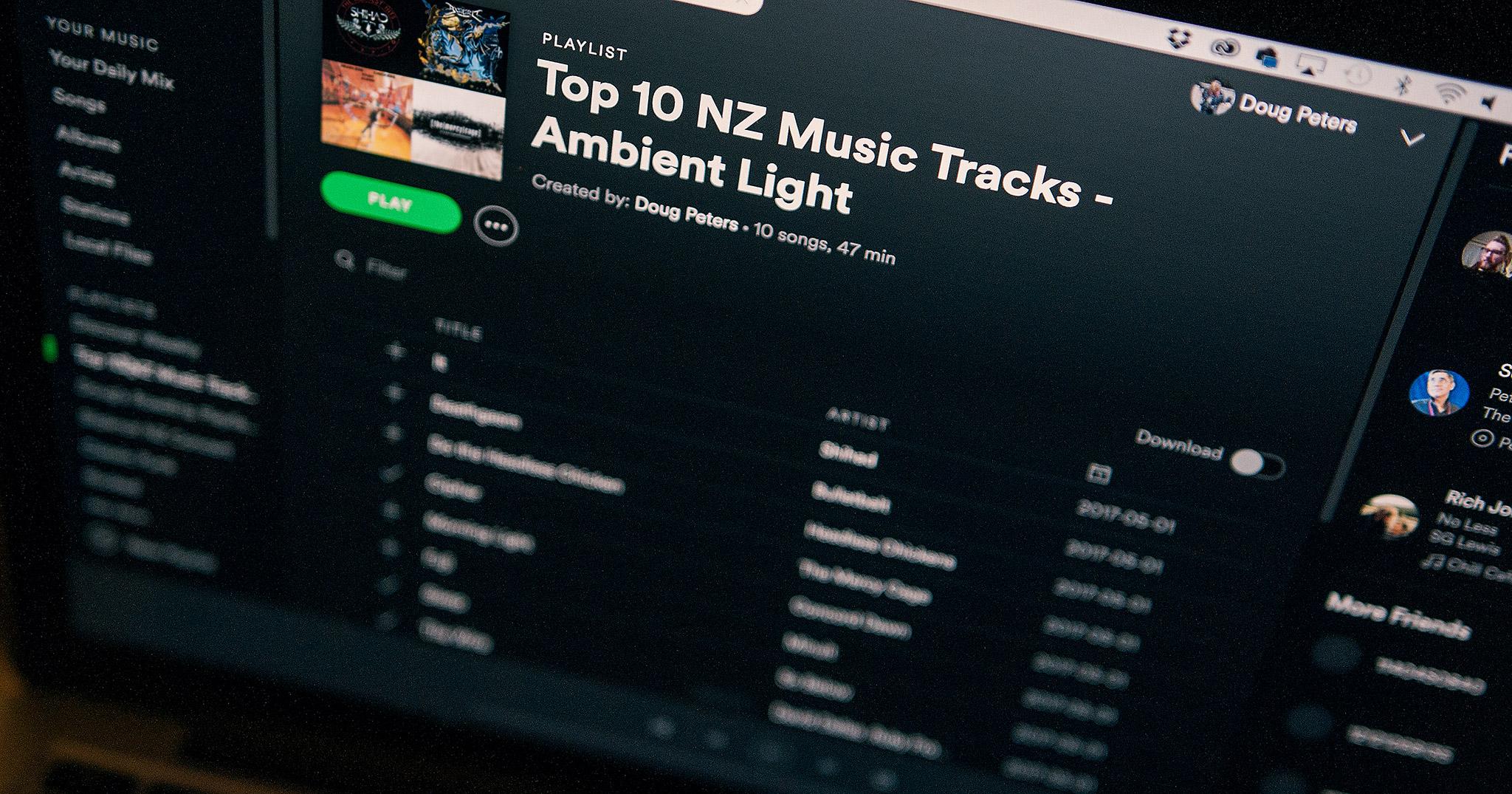 Spotify Playlist Feature