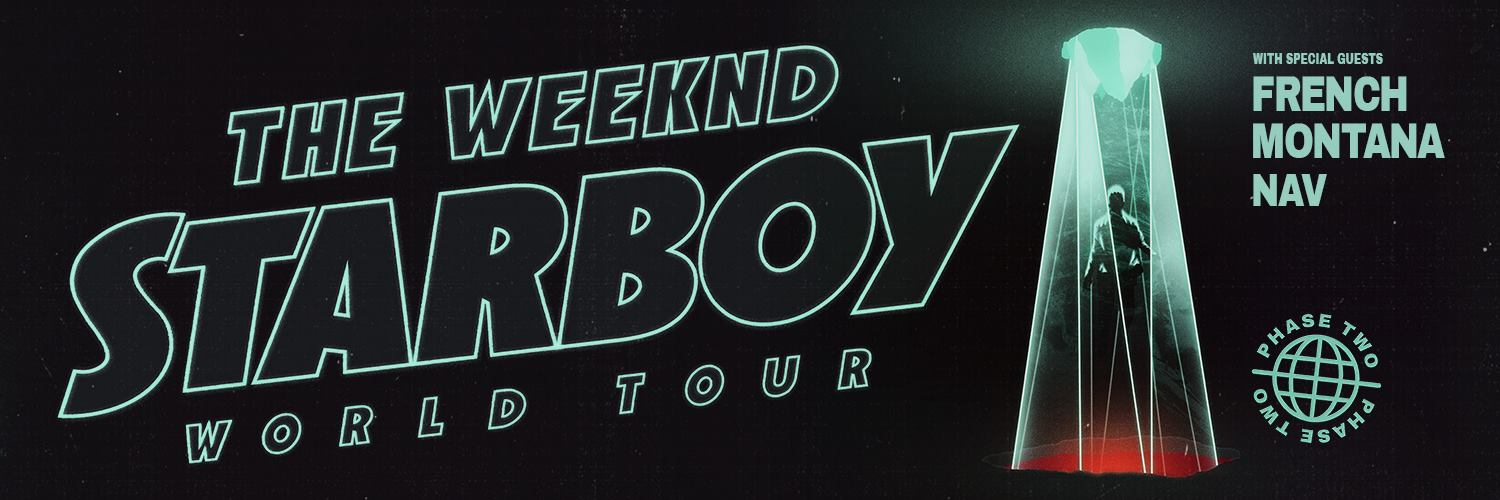 The Weeknd Tour Banner