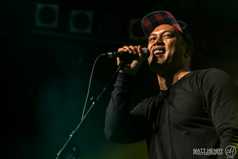Kora performing live at Auckland's Powerstation, 2017. Image by Matt Henry Photography.