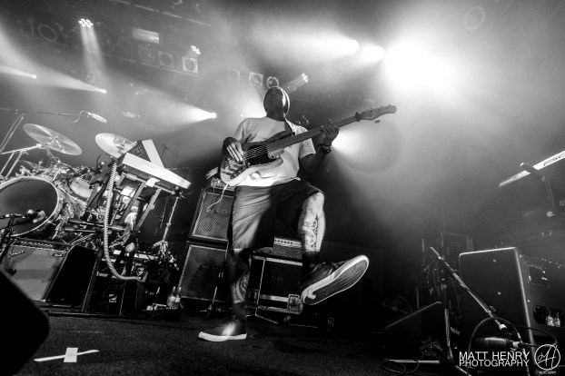 L.A.B. performing live at the Powerstation, Auckland New Zealand, 2017. Image by Matt Henry Photography.