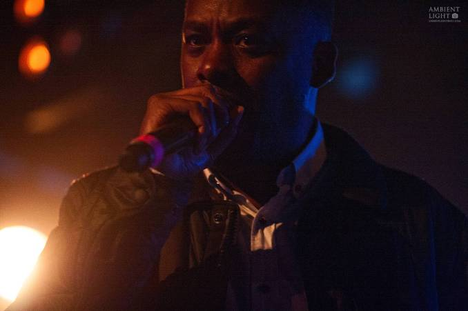 GZA performing live in Auckland, New Zealand, 2017. Image by Doug Peters.