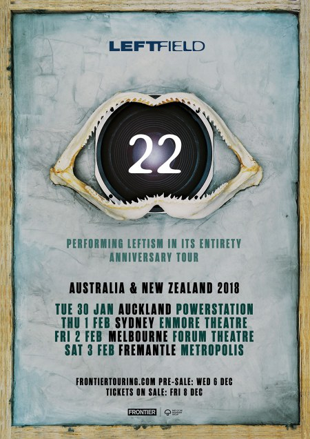 Leftfield NZ Tour Poster