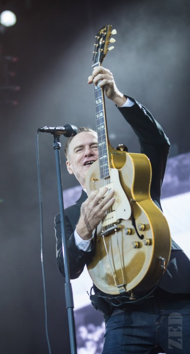Bryan Adams performing live in Matakana, New Zealand, 2018. Image by ZED Pics.