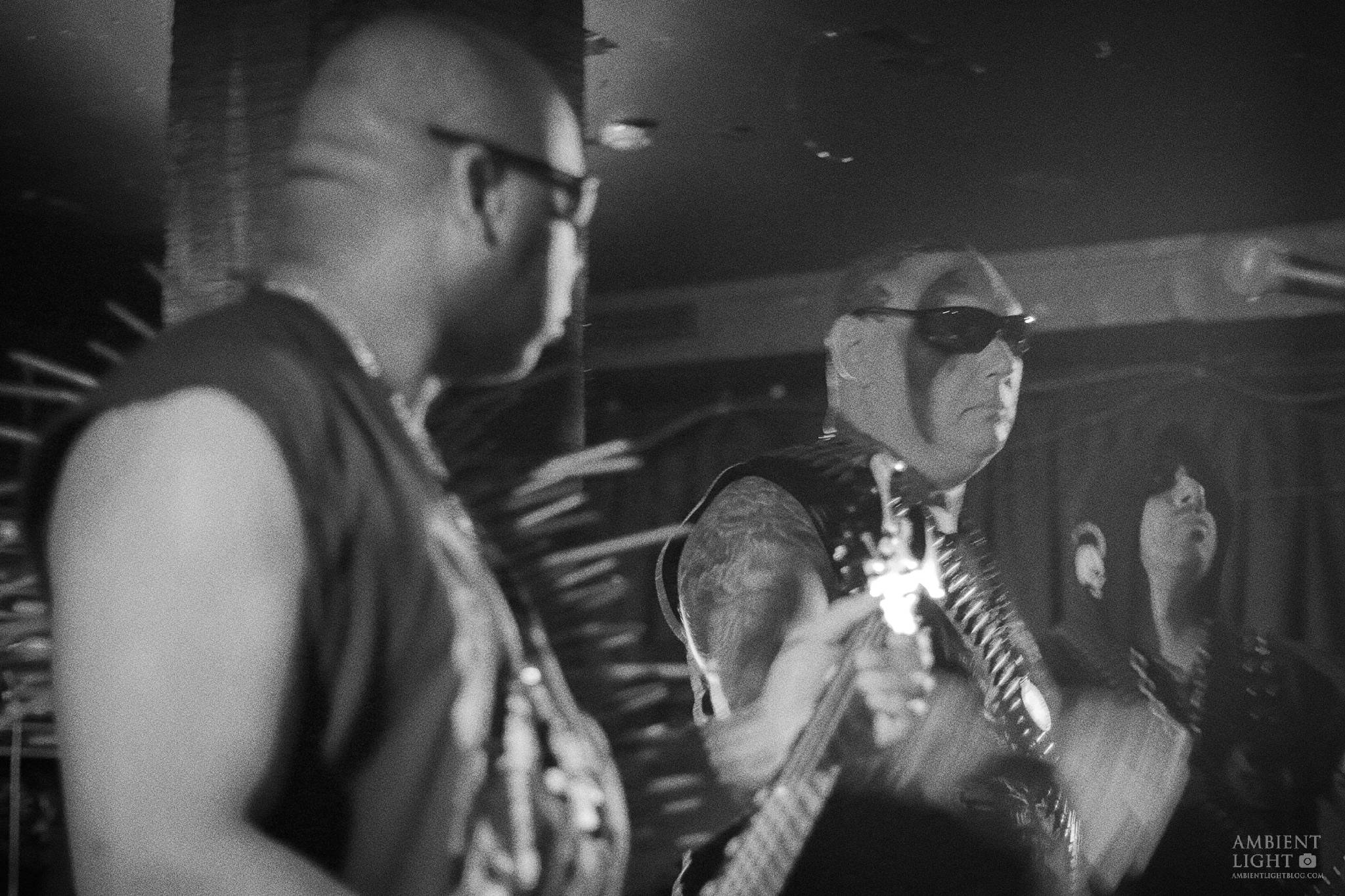 Blasphemy Performing Live In Auckland New Zealand, 2018 Image By