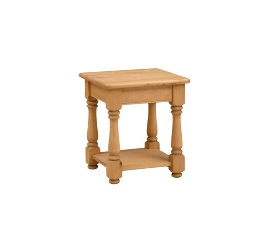 farmhouse pine coffee table with a