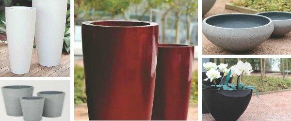 Macetas y vasos decorativos para complementar la decoración de tu ...