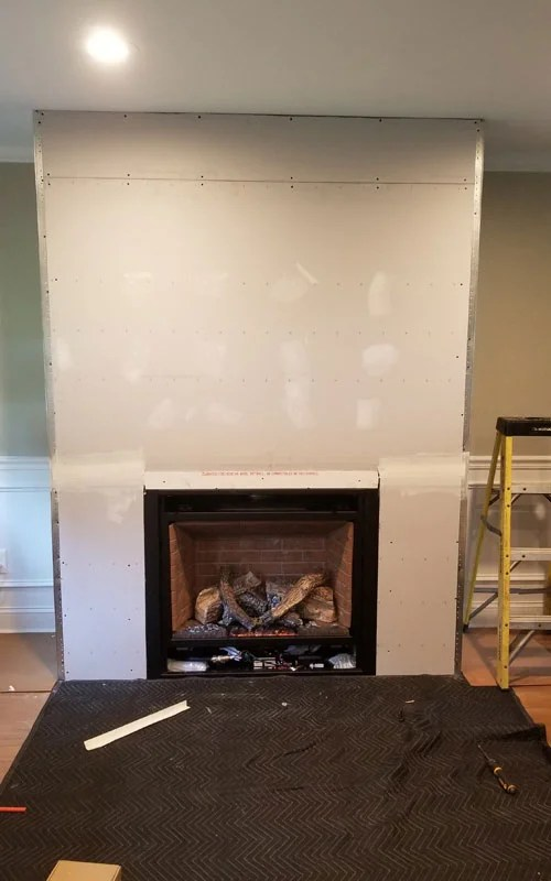 add a fireplace