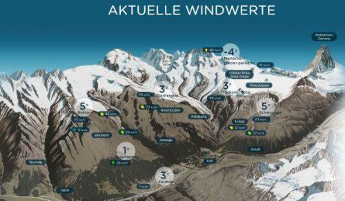 Zermatt Wetter (Klick ins Bild)