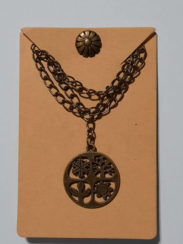 Bronze Four Seasons Necklace