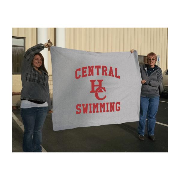 Personalized Fleece Blankets | Blanket Fundraiser