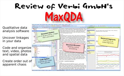 MaxQDA Qualitative Data Analysis