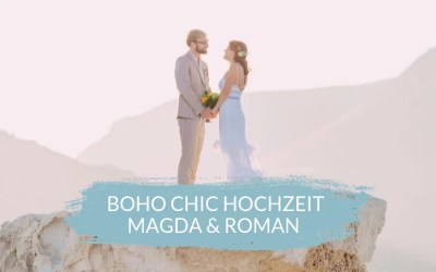 Die internationale Boho Chic Hochzeit in Cabo de Gata