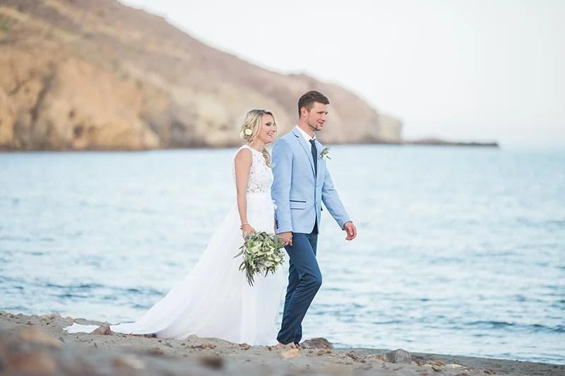 Hochzeit zur zweit am Meer