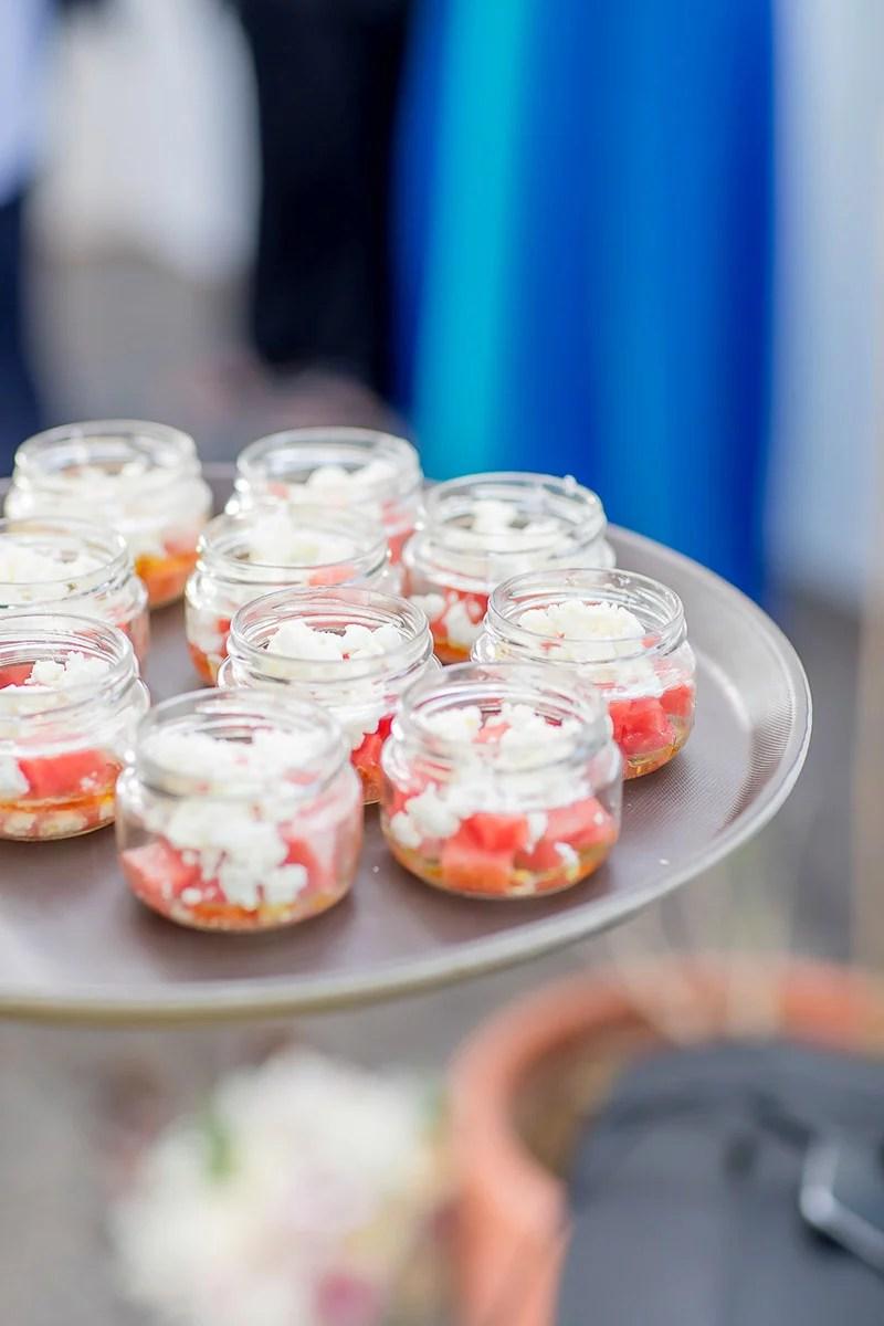 Tapas, Sommerhochzeit, Gartenhochzeit Idee für das Essen