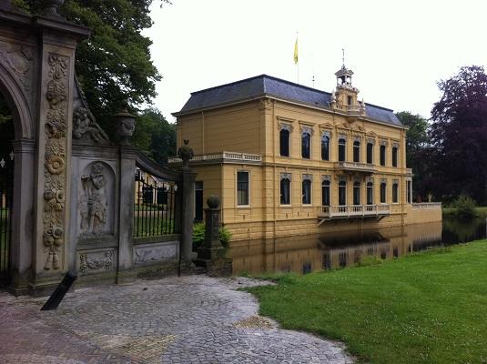 Borg Nienoord op een wandeling over het Drenthepad van Peizerwold naar Roden