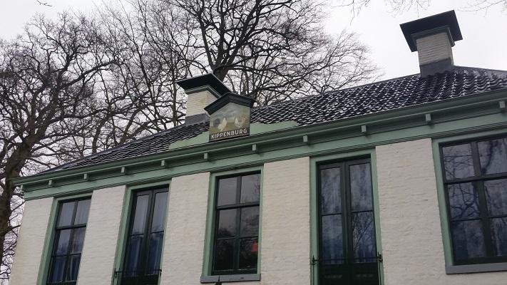 Kippenburg op wandeling over het Elfstedenpad van Oudemirdum naar Sloten