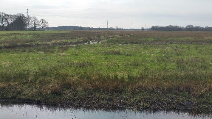 Wandelen over het Groot Frieslandpad langs het Oostervoortsche Diep in Norg