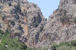 Kritsakloof tijdens wandelreis op Kreta in Griekenland