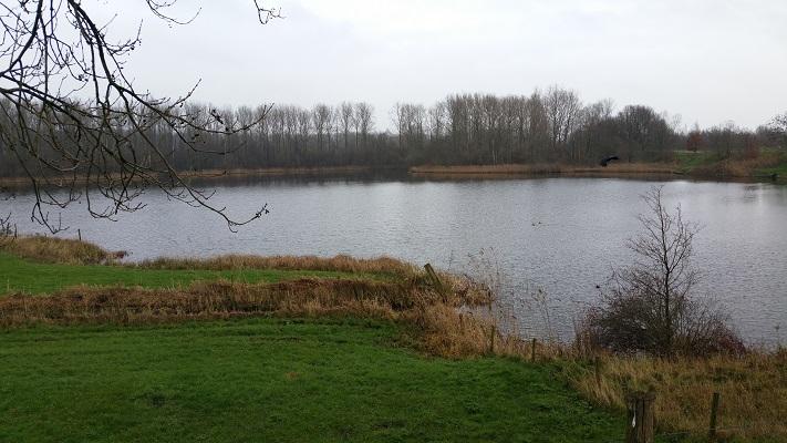 Koppelwiel tijdens wandeling over het Maaspad van Heusden naar Waalwijk