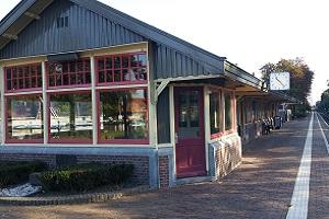 Wandelen over het Oudste Wandelpad van Nederland bij station Den Dolder