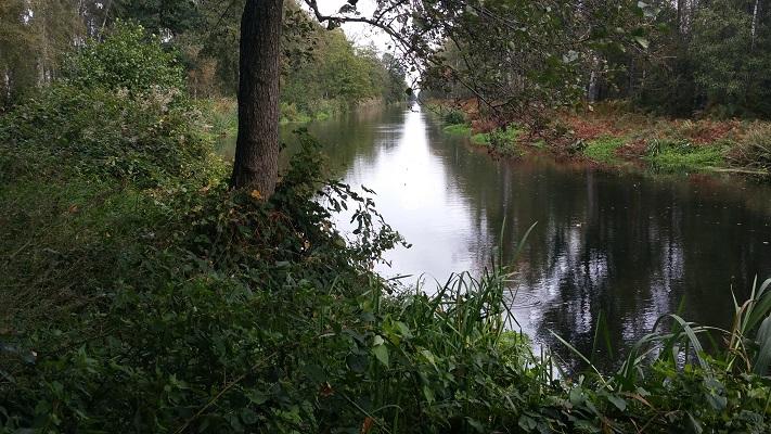 Wandelen over het Peelpad met vergezicht over Kanaal van Deurne