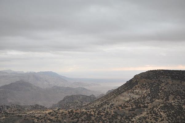 Natuurreseraat Dana tijdens een wandelreis van SNP door Jordanië
