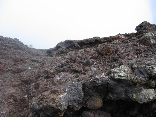 Vulkaanlandschap tijdens een wandelvakantie op Canarisch eiland La Palma