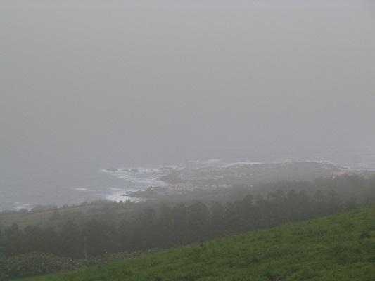 Noordkust bij Asno Mosteiros tijdens een wandelvakantie op eiland Sao Miguel op de Azoren