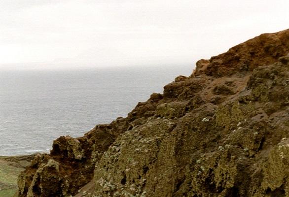 Kust bij Sao Lourenco op wandelvakantie op Portugees eiland bloemeneiland Madeira