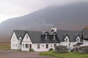 Kingshouse tijdens wandelreis over de West Highland Way in Schotland