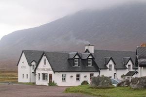 Kingshouse tijdens wandelreis over de West Highland Way in Schotland