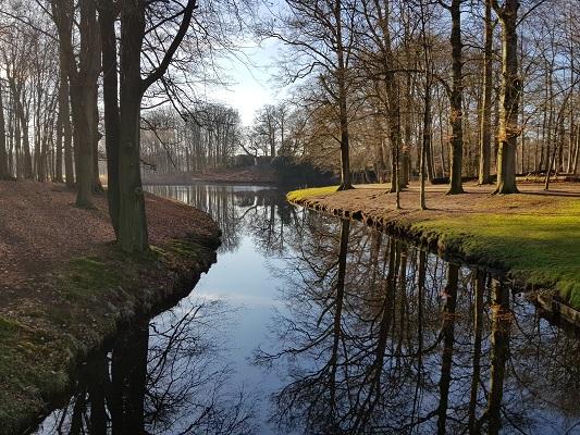 Waterpartij landgoed Groeneveld V