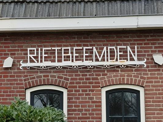 De Rietbeemden tijdens een ommetje Vorstenbosch, mijn geboorteplaats.