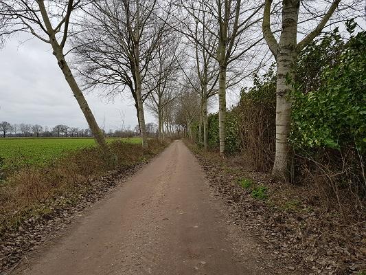 Bij de Leijgraaf tijdens een ommetje Vorstenbosch, mijn geboorteplaats.