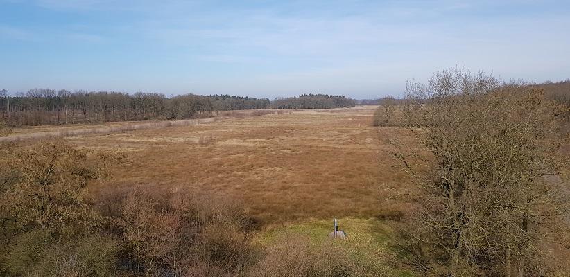 Amerdiep op wandeling over het Roots Natuurpad van Papenvoort naar Hooghalen