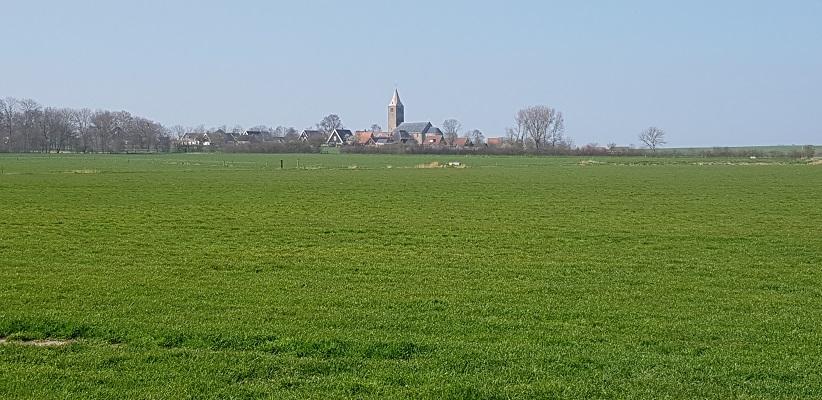 Wandelen over het Noord-Hollandpad van Nieuwesluis naar Den Oever