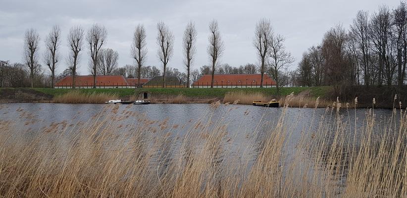 Wandelen over het Romeinse Limespad bij Fort Wierickerschans