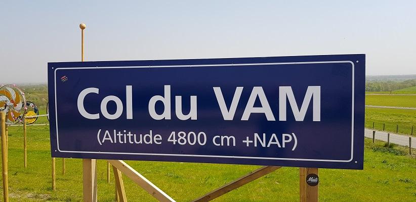 Wandelen langs het Westerborkpad bij Wijster bij VAM