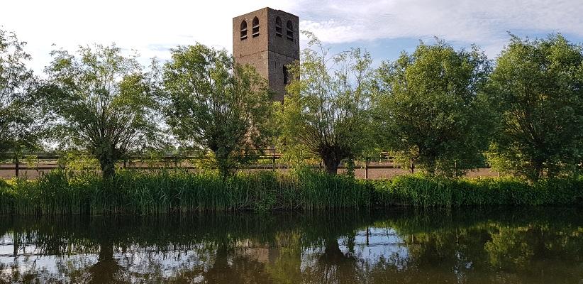 Wandeling over het Dommelpad in Eindhoven bij Opwetten
