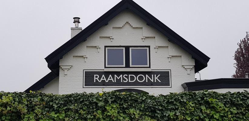 Wandeling over de Zuiderwaterlinie van Hooipolder naar Waalwijk bij voormalige station Raamsdonk