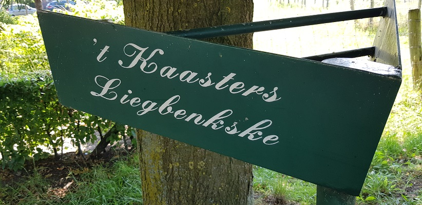 Ik maakte een wandeling, een trage tocht door het Dommdal bij Liempde bij Kaasters Liegbenkske
