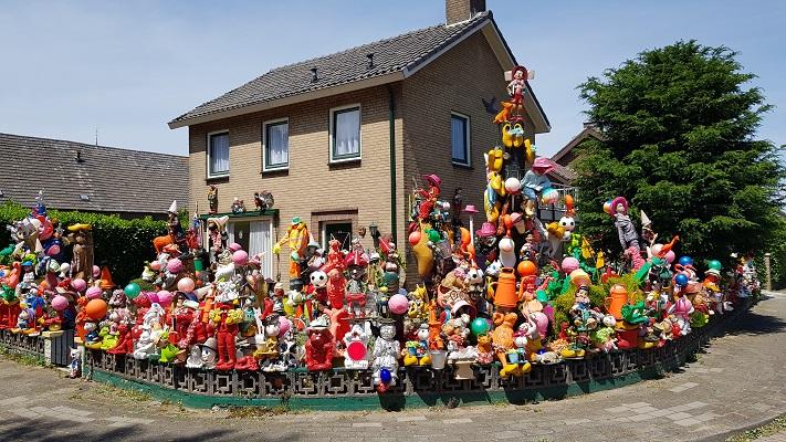 Wandeling buiten de binnenstad van Nijmegen over het Weurtpad