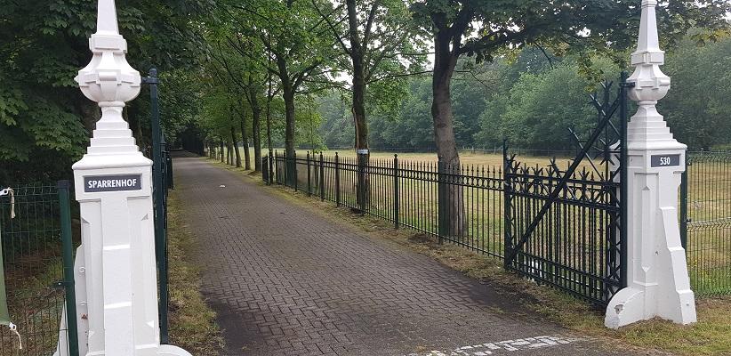 Wandeling NS-wandeling Spoorzone Tilburg bij Sparrenhof