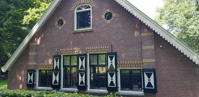 Trage tocht over de Utrechtse Heuvelrug bij Veenendaal bij kasteel Prattenburg