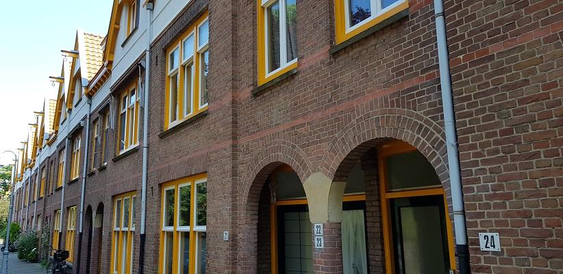 Wandeling door de binnenstad van Amsterdam in Oud-West bij Zaanhof