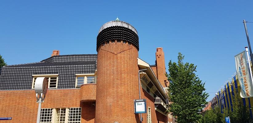 Wandeling door de binnenstad van Amsterdam in Oud-West bij het Schip