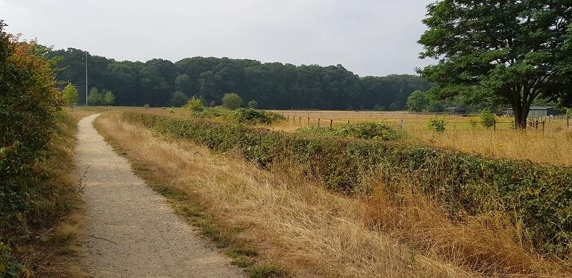 Wandeling buiten de binnenstad van Nijmegen van Gegarandeerd Onregelmatig over het Goffertpad
